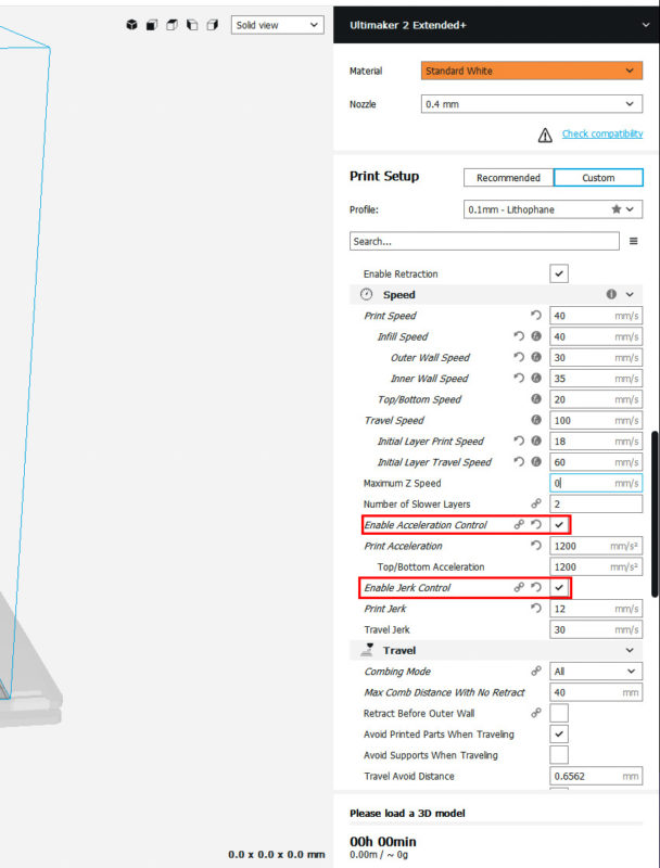 Lithophane Print Settings – Gadunky
